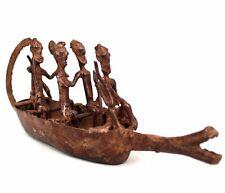 Art Africain African Africana Africano Afrikanische Kunst Pirogue Dogon 27,5 Cms