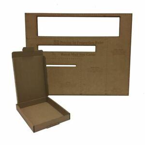 50x BROWN C6 A6 BOXES 115x160x22mm ROYALMAIL LARGE LETTER POST CARDBOARD PIP 4U