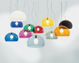 Small FL/Y Pendant By Ferruccio Laviani for Kartell (Yellow, Green and Blue)