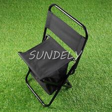 Hi-Q Black Colour Fishing stool chair stool folding stool Seat belt package