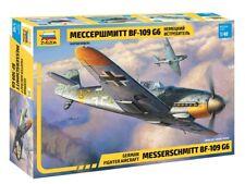 ZVEZDA 4816 - 1/48 WWII Dt. MESSERSCHMITT BF-109 G6 - NEU