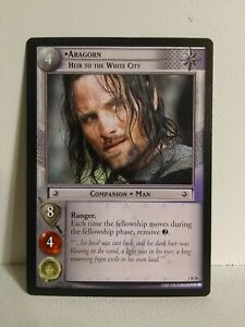 LOTR TCG Realms Of The Elf Lords Aragorn 3R38 heir to the white City