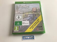 Farming Simulator 15 - Promo - Microsoft Xbox One - UK - Neuf Sous Blister
