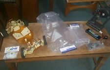"""Vintage RC10 Team Associated """"A"""" Stamp RC 10 AE Gold Pan Buggy Brand New Body"""