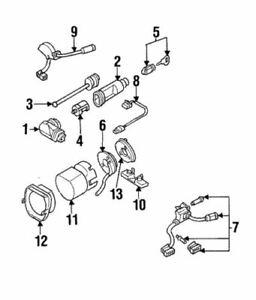 Genuine Mercedes-Benz Ignition Lock Cylinder 140-460-09-04