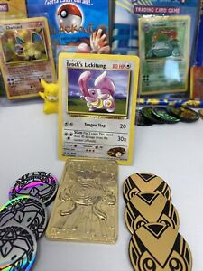 Brock's Lickitung 41/132 - Gym heroes set - Pokemon WOTC