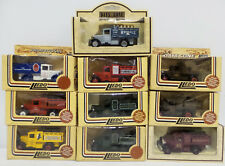 VEHICLES : SET OF 10 VARIOUS COMMERCIAL 1934 MODEL A FORD TRUCK BY LLEDO (DT)