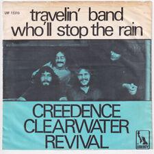 CREEDENCE CLEARWATER REVIVAL Travelin' Band DENMARK 45 John Fogerty DANISH