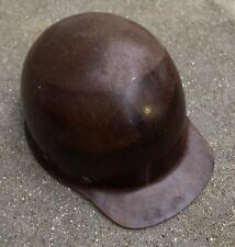 Vintage Msa Safety Skull Gard Skullgard Cap Hard Hat Color Tan Brown Protect