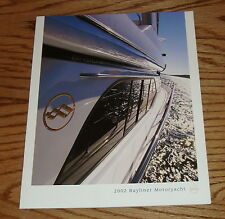Original 2002 Bayliner Motoryacht Sales Brochure 02