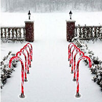 1Pcs Christmas Pathway Candy Cane Walkway Light Store Outdoor Yard Decor