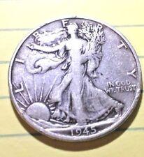 "1945 ""S"" Walking Liberty ""Silver"" Half Dollar,  909"