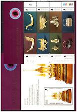 Thailand 2629-36 Blöck 218 Kunsthandwerk postfrisch