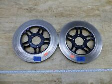 1982 Honda CB900F Super Sport H1527-1. front brake rotors discs left right