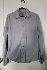 H&M size medium gray dress shirt 15 3/4
