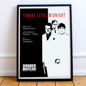 The Office Movie Poster - Threat Level Midnight Print (Unframed)