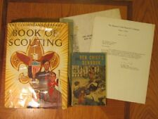 Golden Anniversary Book of Scouting With Paperwork 1st Print, Den Chiefs Denbook