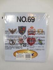 RARE Brother Embroidery Card No. 69 Shirt & Hat Emblems Collection SA369
