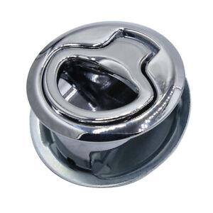 Zinc Alloy Latch RV Functional Pull Handle Silver Round Box Door Handle T