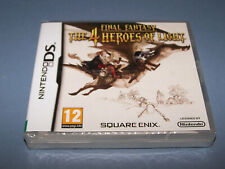 FINAL FANTASY THE 4 HEROES OF LIGHT - Nintendo DS - UK PAL - NEW FACTORY SEALED