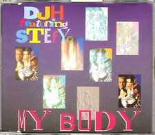 DJ H. Feat. Stefy - My Body - CDM - 1994 - Eurodance Italodance 6TR Rare France