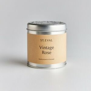 St Eval Candle Company Scented Tin Candle Vintage Rose