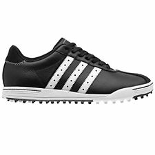 adidas Golf adicross Classic Spikeless Golf Shoes (Black/White) (9.5 D(M) US)