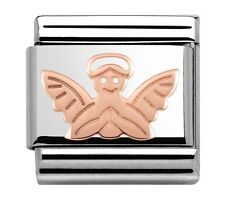 Nomination Charm Rose Gold Angel RRP £18