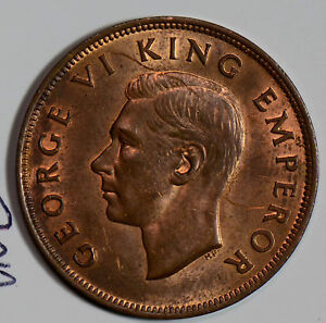 New Zealand 1942 Penny  N0105 combine shipping