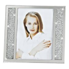 "(D) Decorative ""Lucerne"" Crystallized Glass 8x10"" Photo Frame (S1003)"