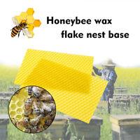 Honeycomb Bee Wax Foundation Beehive Wax Frames Base Sheets Bee Comb Honey Frame