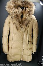 SUPER BEAUTIFUL & WARM!!!  MACKAGE HOODED DOWN COAT WITH FUR WOMEN JACKET XS/TP