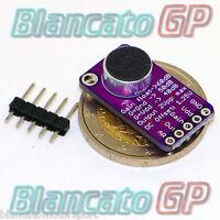 MAX9814 AMPLIFICATORE MICROFONO CONTROLLO AUTOMATICO GUADAGNO AGC CMA-4544PF-W