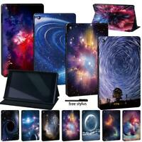 Leather Stand Case Cover Fit Amazon Fire 7 (5/7/9th) HD8 (6/7/8th) HD10(5/7/9th)