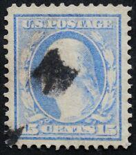 U.S. Used #340 15c Washington, Superb Jumbo. A Gem!