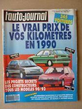 Auto-Journal n°01-90, Maruti 800, Peugeot 309 SRD, Opel Omega 3000 24V, Saab 900