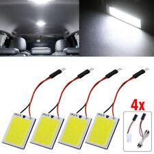 White 24SMD COB LED T10 Adapter 4W 12V Car Interior Panel Light Dome Lamp