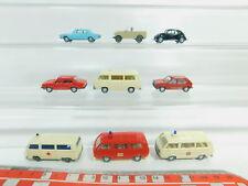 BO623-0,5 #9x Wiking H0 / 1:87 Camión Etc. : VW Bombero/ Ambulancia/ Taxi + Audi