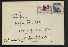 Germany  461, 464   on cover to  Sweden         KL0306