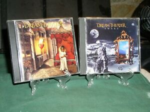 2 - DREAM THEATER CDs~ ~ AWAKE  & IMAGES AND WORDS [ BOTH VRY GD+]