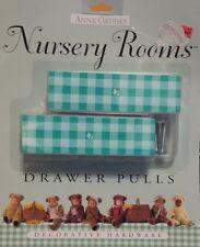 """NEW ANNE GEDDES DECORATIVE HARDWARE NURSERY ROOM Green Drawer Pulls 1"""" X 4"""""""