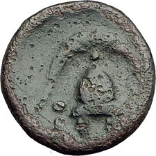 DEMETRIOS I Poliorketes MACEDONIA King Shield Helmet Ancient Greek Coin i62713
