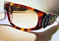 NEW Don Ed Hardy Vintage Tattoo Sunglasses Live to Ride Dead or Alive Revo Cas
