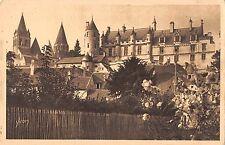 BF5142 chateau de loches vue generale france    France