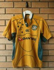 Australia Wallabies Canterbury Ccc Mens Rugby Jersey Size Small Qantas