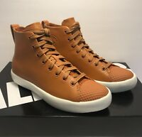 Converse Size Mens 9.5 / Womens 11 CTAS Modern Hi Brown Leather Sneakers Shoes