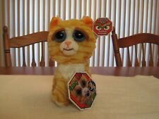 FEISTY PETS BY WILLIAM MARK PRINCESS POTTYMOUTH PLUSH STUFFED CAT--NEW WITH TAGS