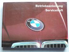 Betriebsanleitung/Serviceheft - BMW E30 - 316, 318i, 320i, 323i , 8.1984, 200 S.