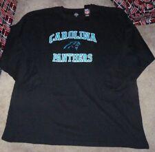 NEW NFL Carolina Panthers Waffle Knit L/S Long Sleeve Men BIG 4XL XXXXL NEW NWT