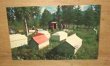 Indian Burial Ground at Eklutna Alaska Unposted Postcard